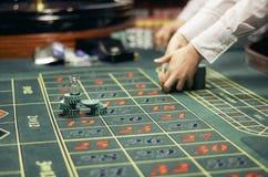 I chip sul campo da gioco Fotografie Stock