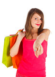 I choose you to come shopping Stock Photos