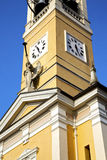 i cislagoabstrakt begrepp klockasunnen för vägg och för kyrkligt torn Royaltyfria Foton