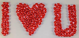 I coeur u Photos libres de droits