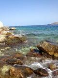 I colori dell'oceano Fotografie Stock Libere da Diritti