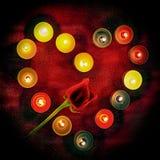 I colori di amore Immagini Stock