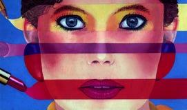 I colori di compongono Fotografia Stock Libera da Diritti