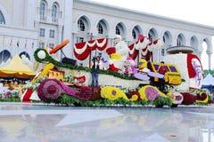 I colori di Fest della flora di armonia visualizzano la Malesia 2007 Immagine Stock Libera da Diritti
