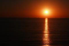 I colori di un tramonto immagini stock