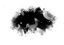 I colpi grafici della spazzola delle toppe di colore progettano l'elemento di effetto per fondo Immagini Stock