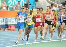 I competitori di 1500 uomini Immagine Stock