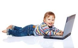 I computer sono divertimento! Fotografie Stock