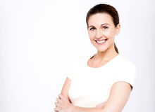 I am a confident woman ! Royalty Free Stock Images