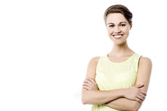 I am a confident woman ! Stock Images
