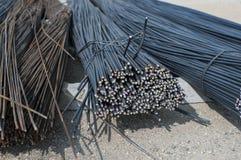 I coni retinici di metallo della costruzione si chiudono sulla vista Fotografia Stock