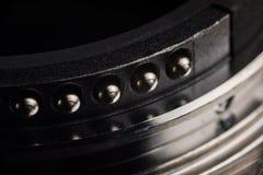 I contatti del supporto della lente fotografie stock libere da diritti
