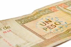I convertibili di un peso cubano, Immagine Stock Libera da Diritti