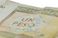 I convertibili di un peso cubano, Fotografie Stock