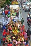 I costumi tradizionali del burattino hanno chiamato Wayang Immagine Stock Libera da Diritti
