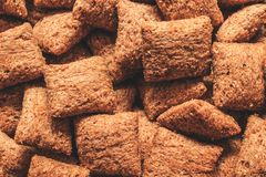 I cuscini dolci aspettano la prima colazione fresca mangiano immagine stock libera da diritti