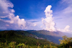I dag de härliga molnen Royaltyfria Bilder