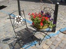 I Danmark en mycket artig mitt av gatadesignen Royaltyfri Bild