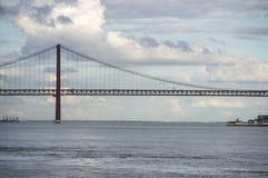 I 25 de Abril Bridge Fotografia Stock