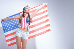 I deeply respect United States of America Stock Images