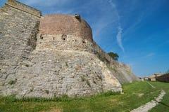 I den Belgrade fästningen Fotografering för Bildbyråer