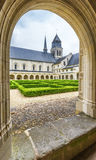 I den Fontevraud abbotskloster Royaltyfria Foton