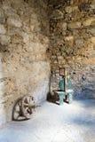 I den gamla källaren Royaltyfri Bild