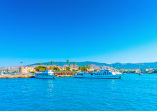 I den Kos ön i Grekland Arkivfoton