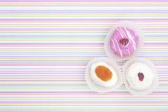 I dessert osservano da sopra Fotografia Stock