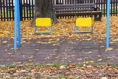 I dettagli del ` s dei bambini parcheggiano Fotografia Stock Libera da Diritti