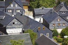 I dettagli di paesaggi urbani/architettura tedesca è caratterizzato da moltissimo regionale fotografie stock