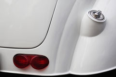 I dettagli esteriori dell'automobile Elemento del disegno Fotografia Stock Libera da Diritti