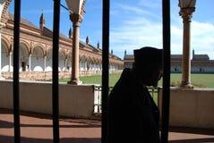 I Di Pavia o Charterhouse di Certosa di Pavia Fotografia Stock
