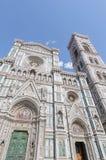 I Di Santa Maria del Fiore della basilica a Firenze, Italia Immagini Stock