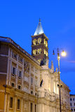 I Di Santa Maria Maggiore della basilica a Roma Immagine Stock