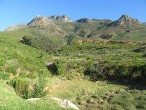 I diavoli alzano la parte verticalmente della riserva naturale della montagna della Tabella fotografia stock libera da diritti