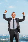 I did it! Royalty Free Stock Photography
