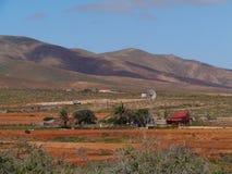I dintorni di Tiscamanita su Fuerteventura Fotografia Stock Libera da Diritti