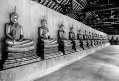 I discepoli di Buddha Immagini Stock