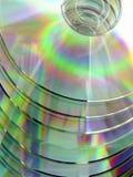 I dischi compatti Immagine Stock Libera da Diritti