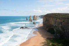 I dodici apostoli, porto Campbell National Park, Victoria, Australia immagini stock