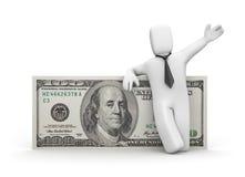 I dollar Stock Image