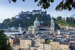 I DOM di Salzburger della cattedrale di Salisburgo a Salisburgo, Austria Fotografia Stock Libera da Diritti