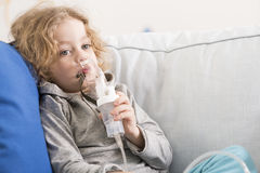 I don't like this inhalations Stock Photos