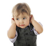 I Don't Wanna' Hear It! Stock Photography