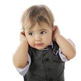 I Don't Wanna' Hear It! Stock Photography