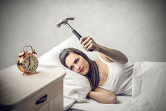 I don't want to wake up royalty free stock photo