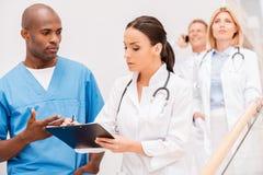 I dottori Consulting immagine stock libera da diritti