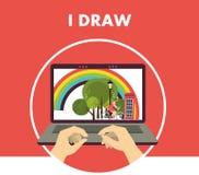I draw Stock Photo