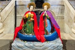 I due Marys immagini stock